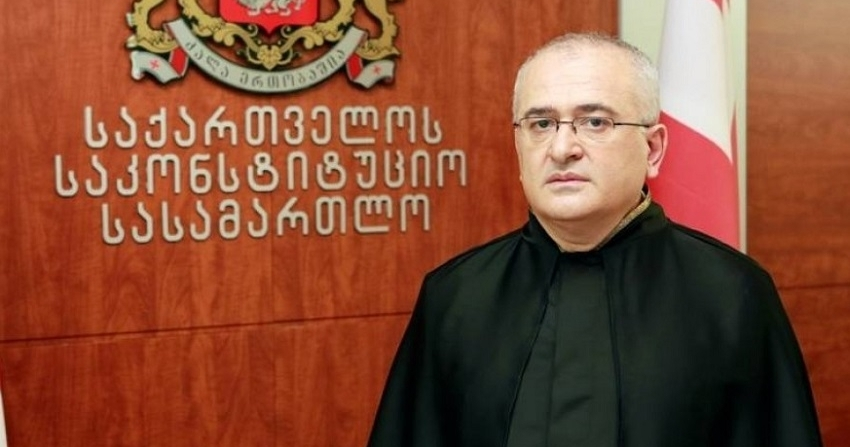 CONGRATULATIONS FROM CHAIRPERSON OF CONSTITUTIONAL COURT OF GEORGIA